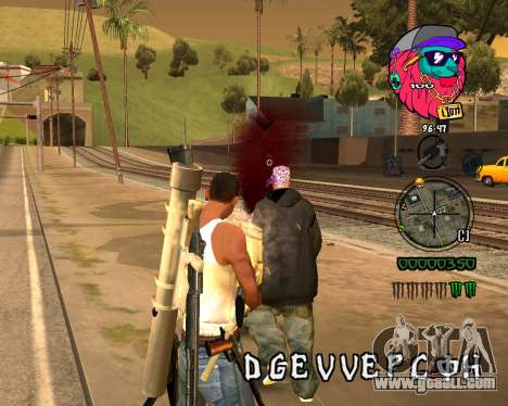 C-HUD Lion for GTA San Andreas