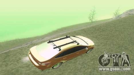 Ford Focus Sedan Hellaflush for GTA San Andreas inner view