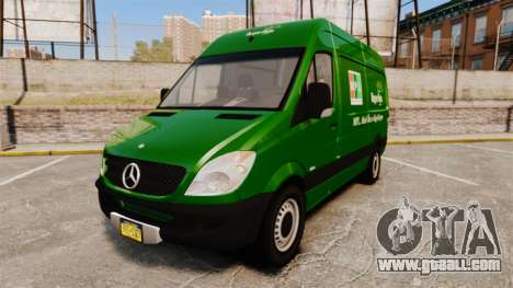 Mercedes-Benz Sprinter 2500 2011 Hungarian Post for GTA 4
