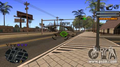C-HUD Light for GTA San Andreas sixth screenshot