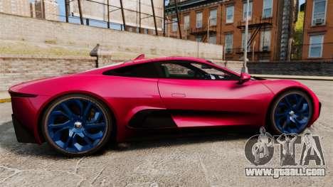 Jaguar C-X75 [EPM] for GTA 4 left view