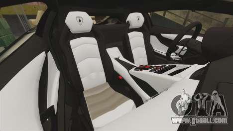 Lamborghini Aventador LP700-4 2012 [EPM] Jake for GTA 4 side view