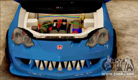Honda Integra Mugen Type R for GTA San Andreas left view