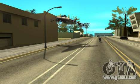 Shadows in the style of RAGE for GTA San Andreas fifth screenshot