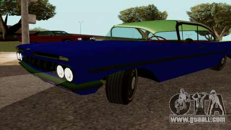 Chevrolet Bel Air 1959 for GTA San Andreas right view