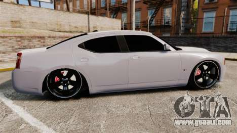 Dodge Charger SRT8 2007 for GTA 4 left view