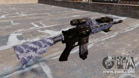 Automatic rifle Colt M4A1 for GTA 4 second screenshot