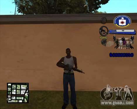 C-HUD C.I.A for GTA San Andreas