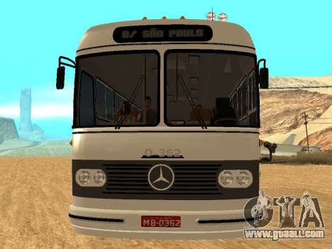 Mercedes Benz Mb O362 for GTA San Andreas back view