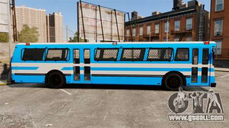 Brute Bus Japanese Police [ELS] for GTA 4 left view