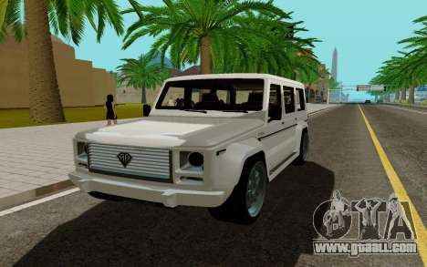 Benefactor DUBSTA for GTA San Andreas