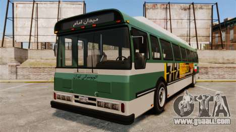 Iranian paint bus for GTA 4