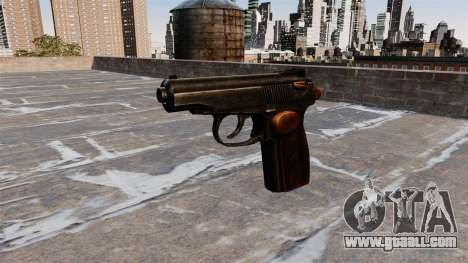 The Makarov Pistol for GTA 4 third screenshot