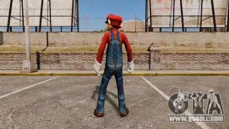 Mario for GTA 4 second screenshot