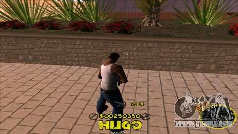 C-HUD Vagos by Hugo for GTA San Andreas second screenshot