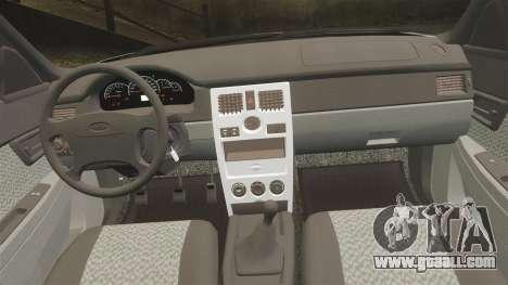 ВАЗ-Lada 2170 Priora v2.0 for GTA 4 side view