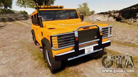 Land Rover Defender tecnovia [ELS] for GTA 4