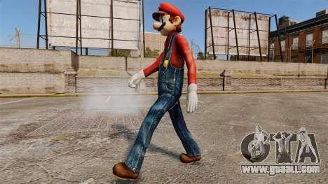 Mario for GTA 4 third screenshot