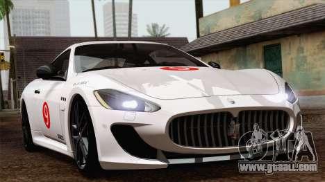 Maserati GranTurismo MC Stradale for GTA San Andreas right view