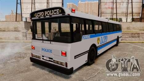 Brute Bus LCPD [ELS] for GTA 4
