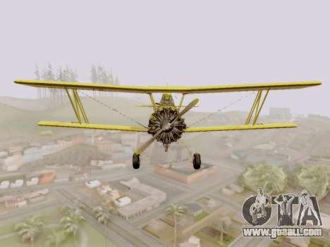Grumman G-164 AgCat for GTA San Andreas left view