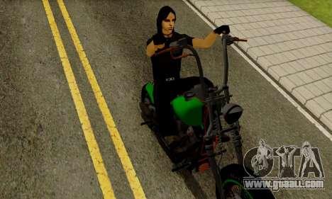Glenn Danzig Skin for GTA San Andreas third screenshot