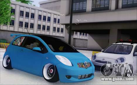 Toyota Yaris Hellaflush Young Child for GTA San Andreas left view