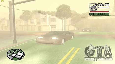 Weather Menu for GTA San Andreas forth screenshot