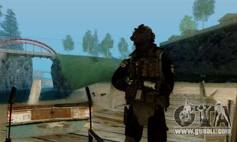 Kopassus Skin 2 for GTA San Andreas seventh screenshot