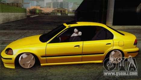 Honda Civic Edit Mehmet ALAN for GTA San Andreas left view