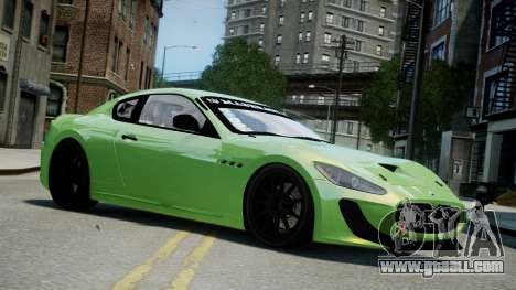 Maserati GranTurismo MC 2009 for GTA 4
