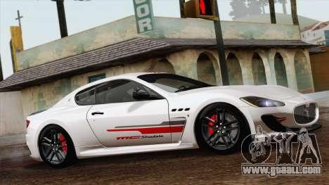 Maserati GranTurismo MC Stradale for GTA San Andreas back left view