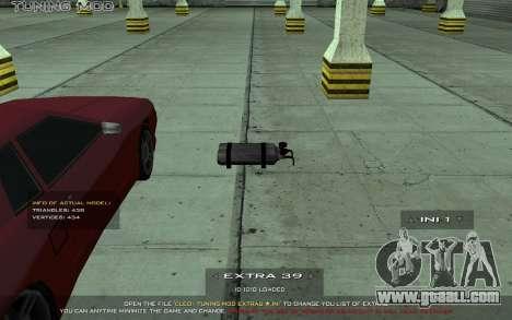 Tuning Mod 0.9 for GTA San Andreas forth screenshot