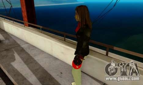 Kim Kameron for GTA San Andreas forth screenshot