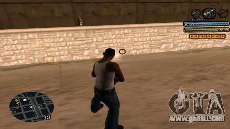 C-HUD Light for GTA San Andreas fifth screenshot
