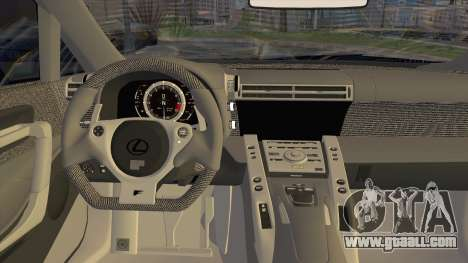 Lexus LFA Street Edition Djarum Black for GTA San Andreas back view