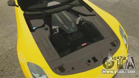 Mercedes-Benz SLS 2014 AMG Performance Studio for GTA 4 inner view