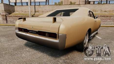 Imponte Dukes new wheels for GTA 4 back left view