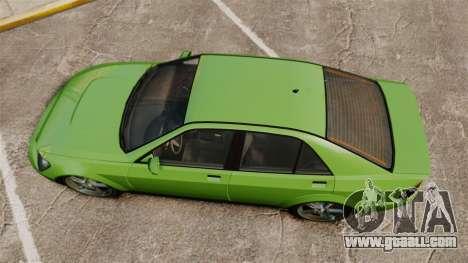 Sultan New Wheel for GTA 4 right view