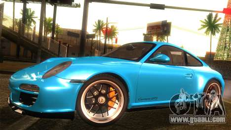 Porsche 911 Carrera GTS 2011 for GTA San Andreas back view