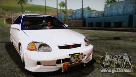 Honda Civic for GTA San Andreas