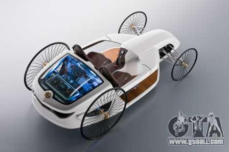 Boot screens Mercedes-Benz F-CELL Roadster for GTA 4 sixth screenshot