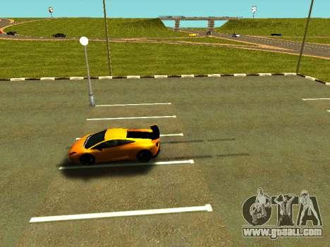 Lamborghini Gallardo Super Trofeo Stradale for GTA San Andreas side view