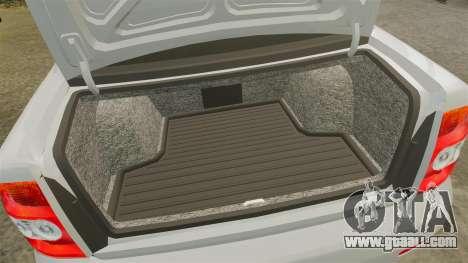ВАЗ-Lada 2170 Priora v2.0 for GTA 4 inner view
