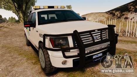 Ford F-150 2010 Liberty City Service Truck [ELS] for GTA 4