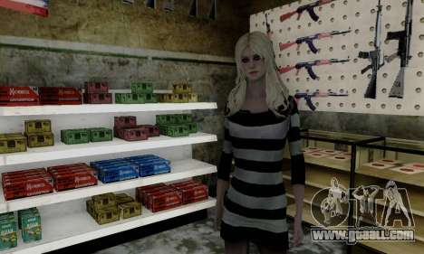 Young Blonde for GTA San Andreas second screenshot