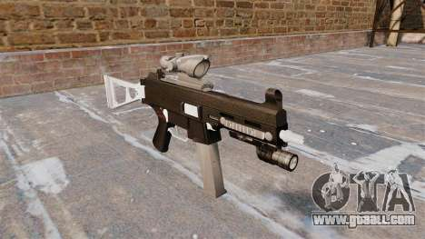 The submachine gun UMP45 for GTA 4