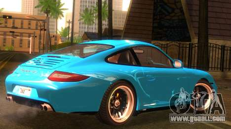 Porsche 911 Carrera GTS 2011 for GTA San Andreas left view