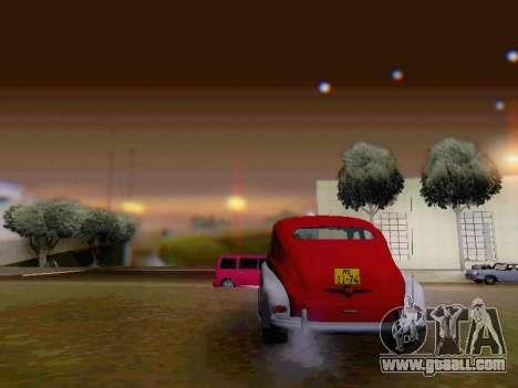 GAZ M-20 Pobeda for GTA San Andreas side view