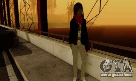 Kim Kameron for GTA San Andreas sixth screenshot